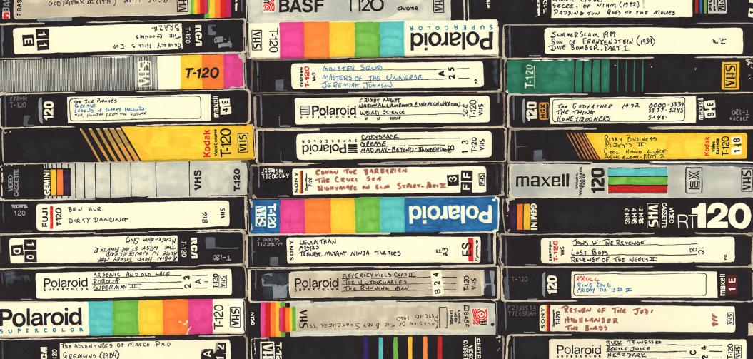 des dizaines de VHS